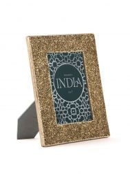 Golden Bedazzled Photo Frame