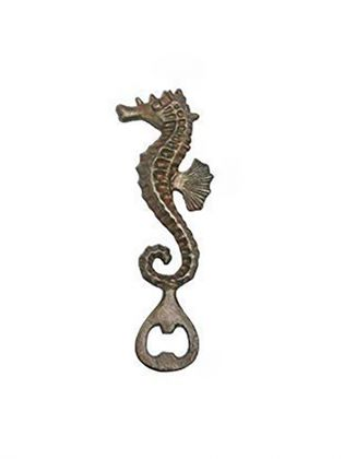 Antique Seahorse Bottle Opener