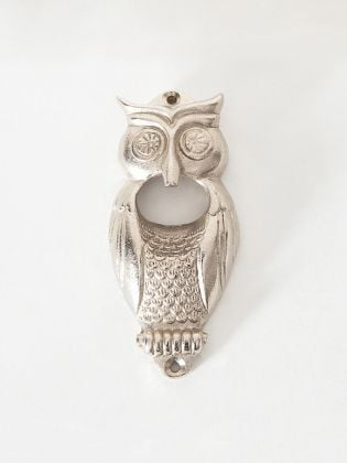 Silver Owl Bottle Opener