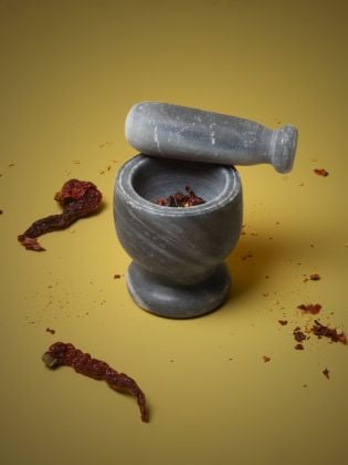 Midnight Ocean Mortar & Pestle Set