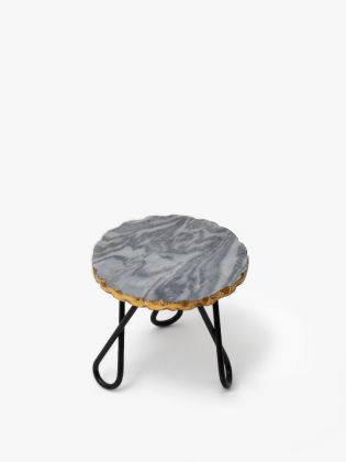 Grey Sweet Shop Marble Cake Stand