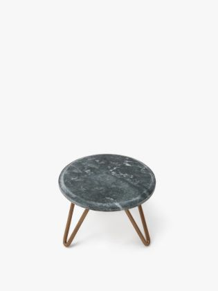 Earl Grey Marble Cake Stand – Gold
