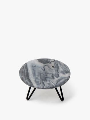 Grey Forest Cake Stand - Black
