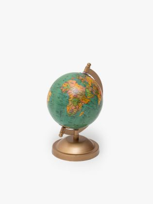 SeaGreen Brown Ornate Globe