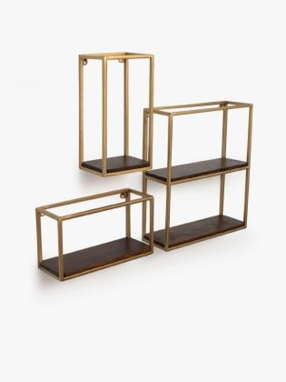 Andre's Space-Maker Wall Shelf