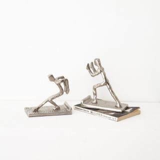 Clout Tow Aluminium Bookends