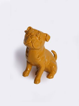 Junior Pug Figurine - Yellow