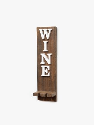 White WINE Wall Art