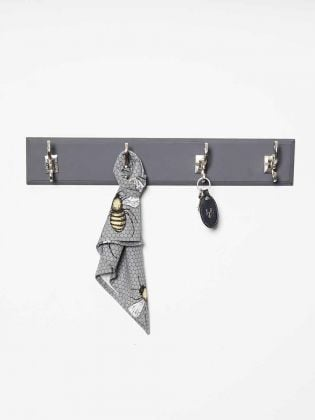 Matte Grey Board Wall Hooks