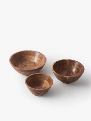 Country Meadow Wooden Bowls