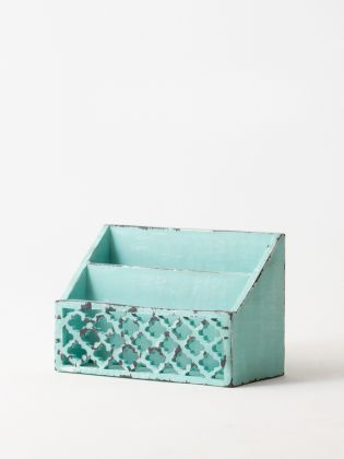 Distressed Imperial Green Letter Sorter