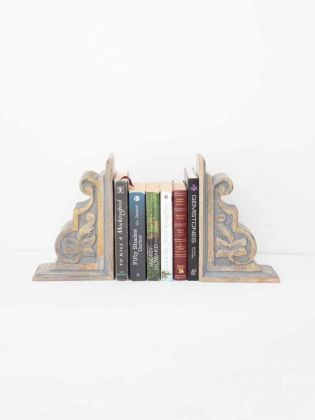 Flos Wooden Bookend