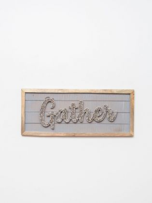 GATHER BEDAZZLED WALL ART
