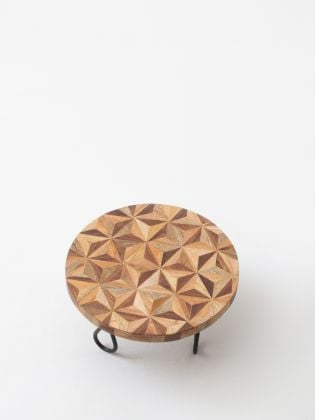 Geometrical Forest Cake Stand - Black