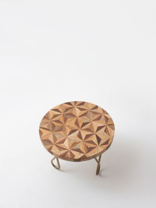 Geometrical Forest Cake Stand - Golden