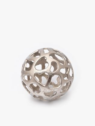 Helix Moon Metal Sphere