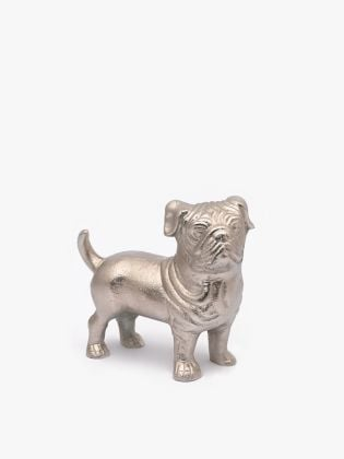 Junior Pug Metal Figurine