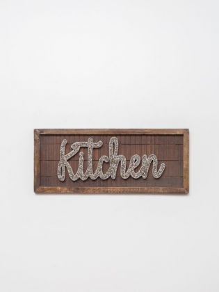 Kitchen Bedazzled Wall Art
