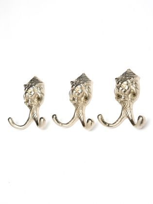 Lonely Lion Wall Hook (Set of 3)
