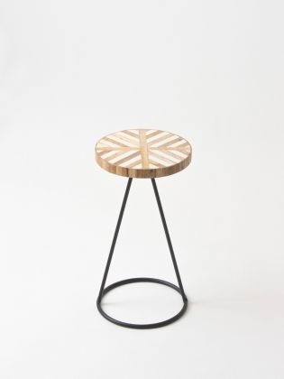 Mid-Century Modern Filament Stand - Black