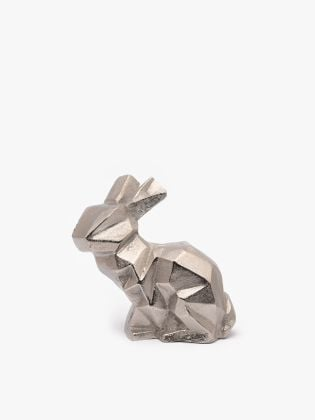 Modern Abstract Bunny Figurine