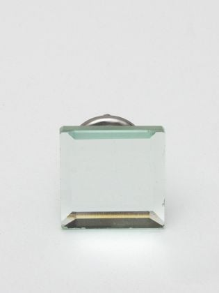 Modern Square Glass Knobs-Set of 6