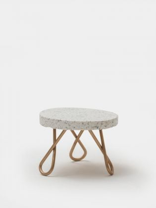 Monochrome Mix Cake Stand - Golden