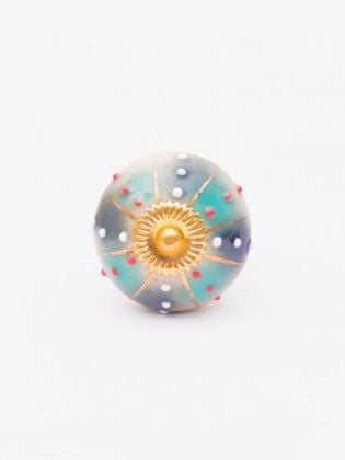 Mystis Ceramic Knobs-Set of 6