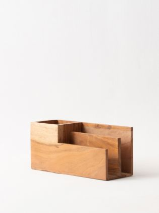 Natural Sylvan Desk Organizer
