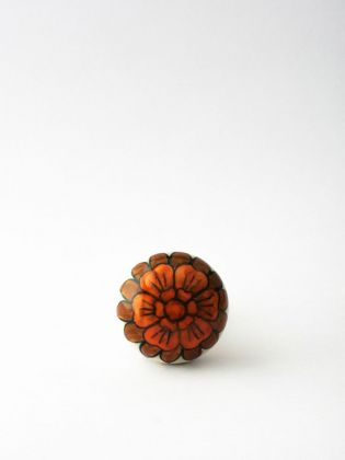 Red Dianthus Wine Stopper