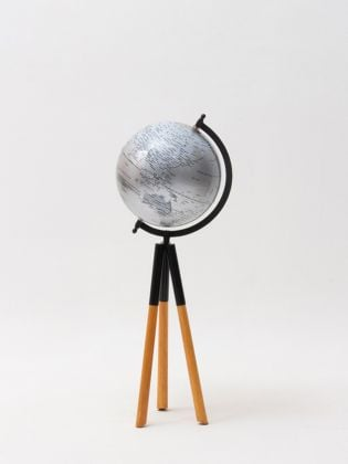 Seer Blue Telescopic Tripod Globe