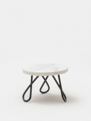 White Frost Cake Stand - Blank