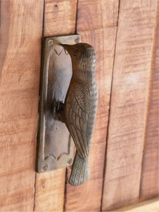 Woodpecker Antique Door Knocker