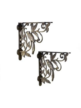 Nightingale Wall Brackets Antique - Set Of 2