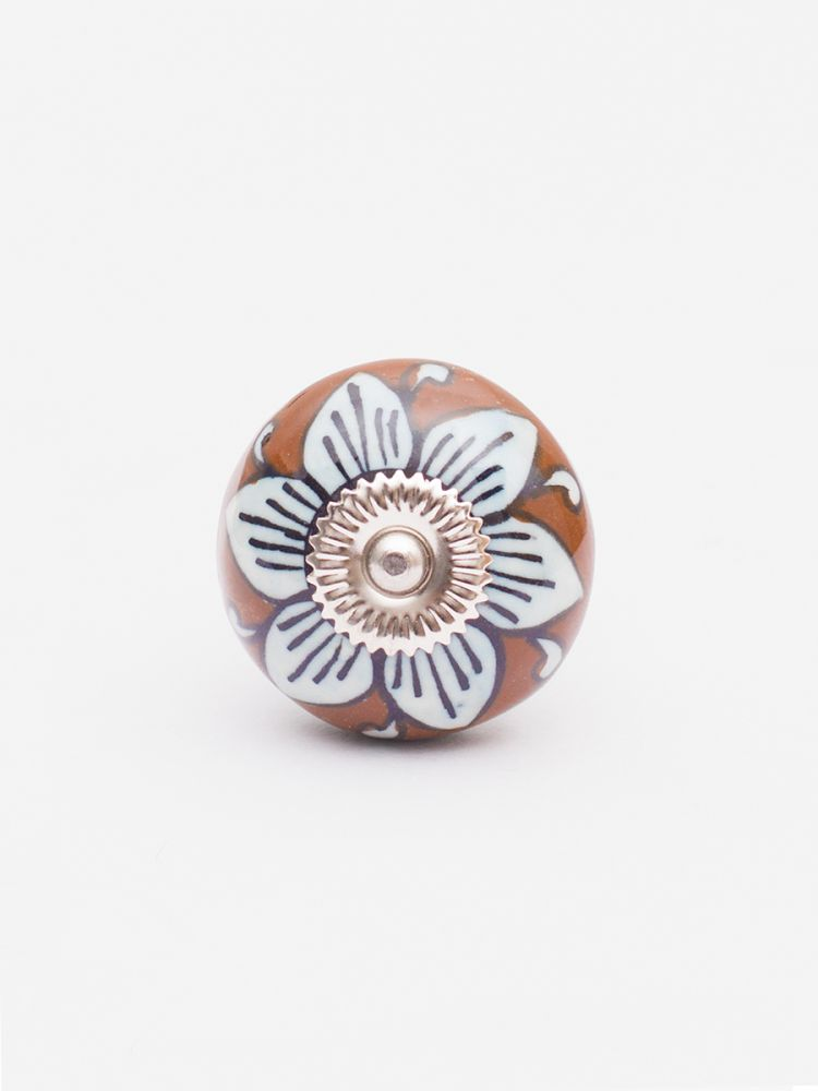 Helia Ceramic Knobs - Set of 6
