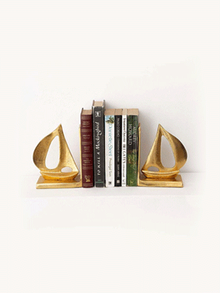 Golden-Sailing-Boat-Bookend_1